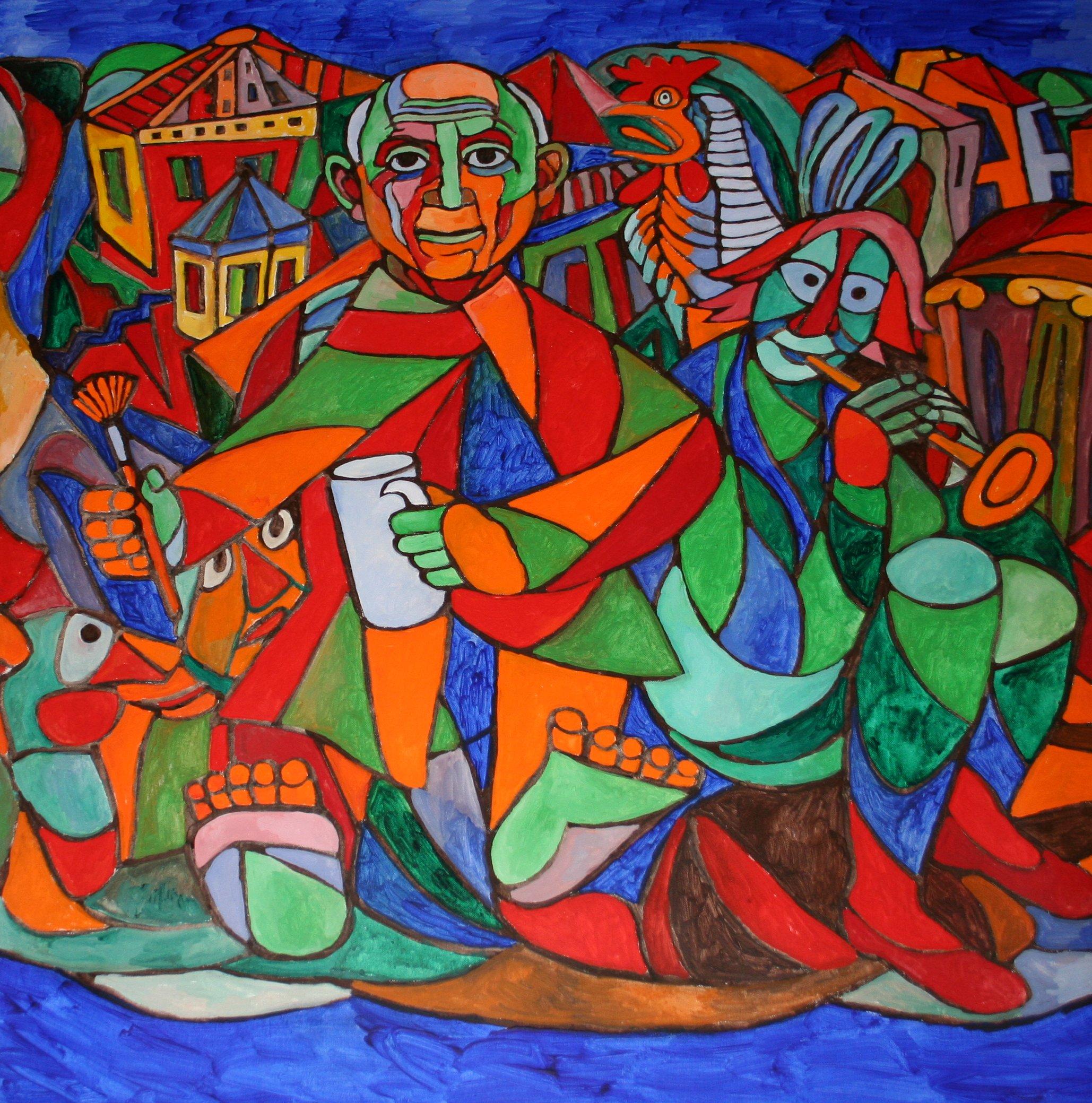 "Picasso ""der Meister des Pinsels"", Foto: ROESSLER PR"