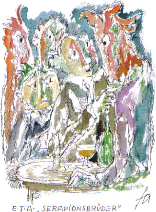 E.T.A. Hoffmann - Die Serapionsbrueder