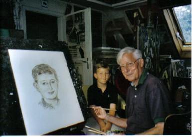 Felix von Habsburg, porträtiert von Ferry Ahrlé