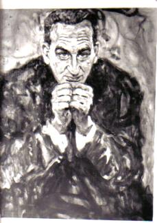 Prof. Kurt Klinger, 1966, Öl (Ferry Ahrlé)