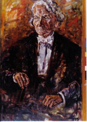 Lina von Schauroth, 1966, Öl (Ferry Ahrlé)