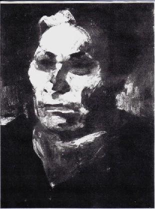 Paul Wegener, 1946, Öl (Ferry Ahrlé)