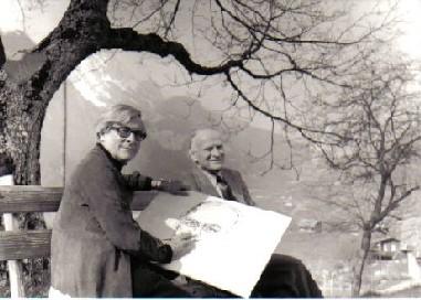 Yehudi Menuhin und Ferry Ahrlé