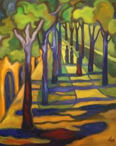 Ferry Ahrlé, Der Wald der Hoffnung, 80 x 100 cm, Foto: ROESSLER PR EUR 5000