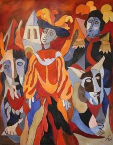 Ferry Ahrlé, Henry Purcell Fantasia, 80 x 100 cm, Foto: ROESSLER PR EUR 5000