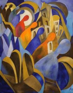 Ferry Ahrlé, Maurice Ravel Bolero, 80 x 100 cm, Foto: ROESSLER PR EUR 5000