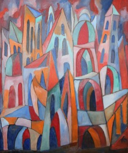 Ferry Ahrlé, Steinerne Sinfonie, 100 x 120 cm, Foto: ROESSLER PR EUR 7000