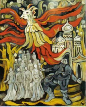"""""""Der Feuervogel"""" von Igor Strawinsky (Ferry Ahrlé)"""