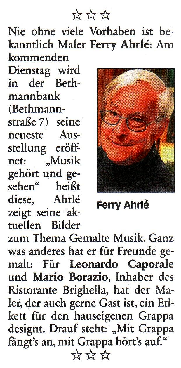 Frankfurter Neue Presse 1. März 2012