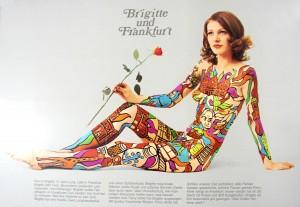 """""""Sorgte für Furore"""" - Brigitte-Plakat von Ferry Ahrlé, Foto: Presse- und Informationsamt der Stadt Frankfurt am Main"""