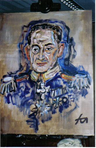 Walter Renneisen als Carl Ludwig Hinckeldey, porträtiert von Ferry Ahrlé