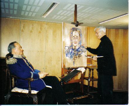 Walter Renneisen als Carl Ludwig Hinckeldey