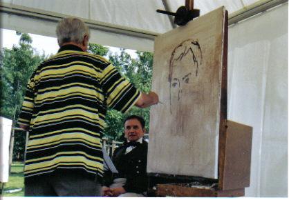 Walter Renneisen als Peter Josef Lenné